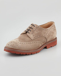 Suede lug sole wingtip medium 8480