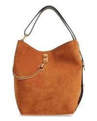 Givenchy Medium Gv Lambskin Bucket Bag