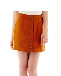 Arizona Button Front Skirt