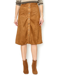Dance Marvel Faux Suede Skirt