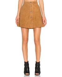 Lamarque Leandra Suede Skirt