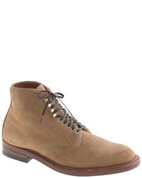 J.Crew Alden For Boots In Camel Suede