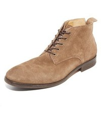 H By Hudson Cooke Suede Lace Up Boots