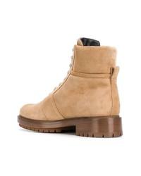 Balmain Lace Up Boots