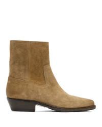Isabel Marant Beige Diago Boots