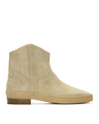 Fear Of God Beige Sante Fe Western Chelsea Boots