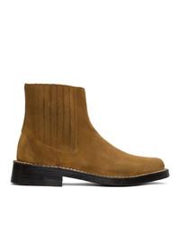 Kenzo Tan Suede Kolorado Chelsea Boots