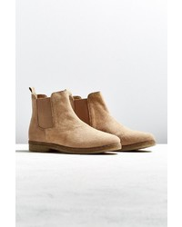 Urban Outfitters Uo Double Crepe Suede Chelsea Boot