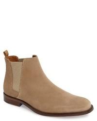 db0f136b83b Men's Tan Chelsea Boots by Aldo | Men's Fashion | Lookastic.com