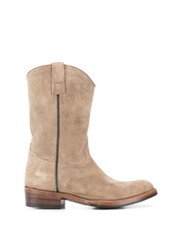 Alberto Fasciani Western Ankle Boots