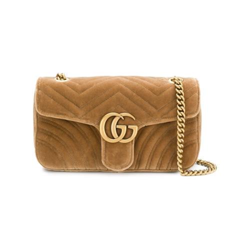 d3f7c141ac59b2 Gucci Gg Marmont Chain Shoulder Bag, $1,663 | farfetch.com ...