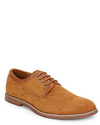 Joe's Jeans Stamped Suede Derby Shoes