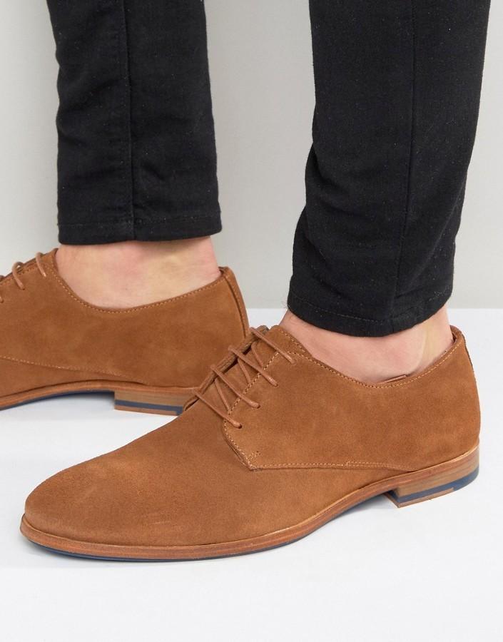 Zign Shoes Zign Suede Derby Shoes, $56