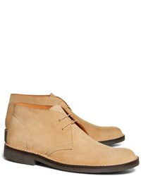 790d1970d4195 Men s Tan Suede Desert Boots by Brooks Brothers