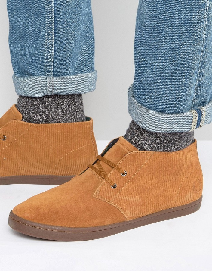0a3c06e97c6 ... Fred Perry Byron Suede Mid Chukka Boots ...