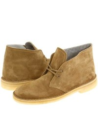 Clarks Desert Boot Lace Up Boots Oakwood Suede