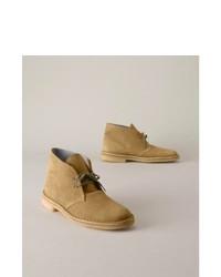Clarks Desert Boots Oak, $120 | Eddie