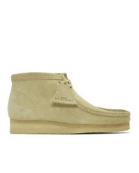 Clarks Originals Grey Suede Wallabee Boots