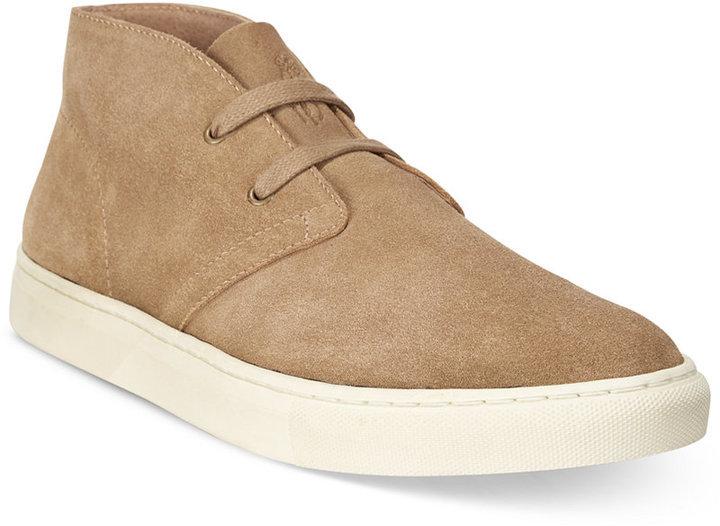 ... Tan Suede Desert Boots Polo Ralph Lauren Joplin Chukka Boots