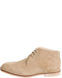 Gucci Ssima Suede Desert Boots