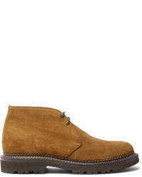 Brunello Cucinelli Storm Welted Suede Chukka Boots