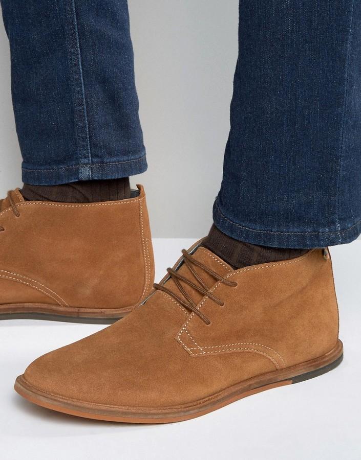 Frank Wright Strachan Chukka Boots Tan