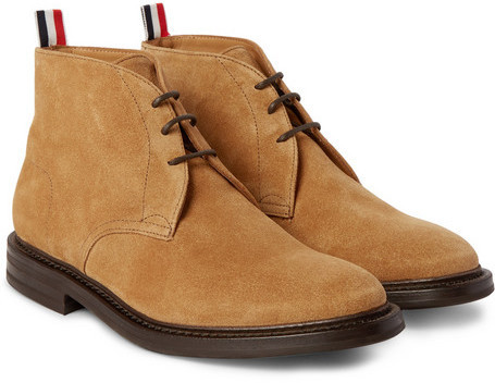 best store to get buy cheap supply Thom Browne Suede Chukka Boots free shipping new arrival genuine cheap online 5jbApHskAU