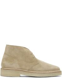 Tan suede chukka boots medium 785610