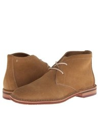 Trask Brady Shoes Camel Wr Suede