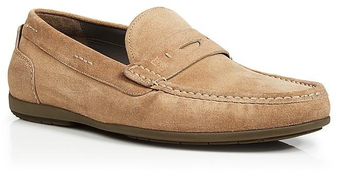 13cda7d5d94 ... Shoes Hugo Boss Boss Florios Suede Penny Drivers ...