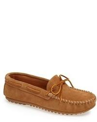 Suede driving shoe medium 591777