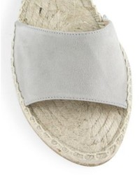 2b826b0a3dd Diane von Furstenberg Dakota Suede Gladiator Espadrille Sandals ...