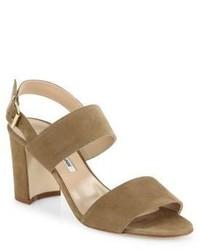 4ad46462b0326 Women's Tan Heeled Sandals by Manolo Blahnik | Women's Fashion ...