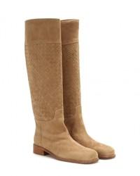 Bottega Veneta Leather Knee High Boots
