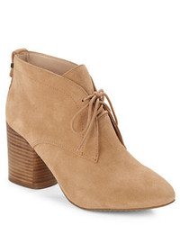 Dinah suede ankle booties medium 891910