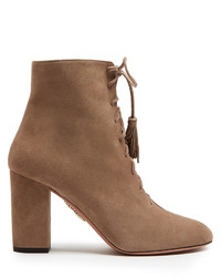 Jourdan lace up suede ankle boots medium 3709796