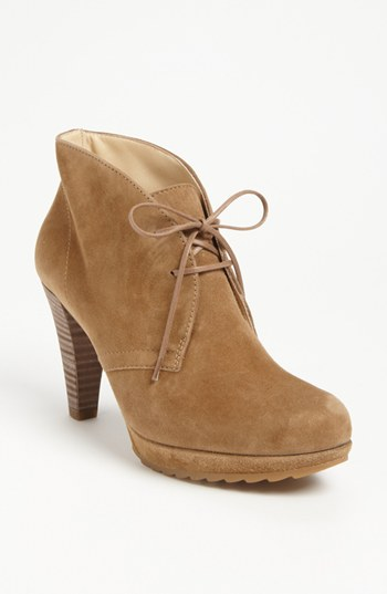 8255fd6f8a2f2 ... Lace-up Ankle Boots Paul Green New York Bootie Havana Suede 95 M