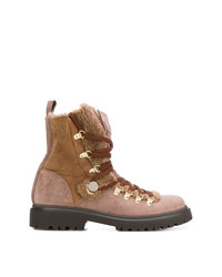 Moncler Panelled Hiking Boots