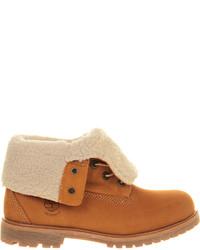 Timberland Teddy Fleece Leather Boots