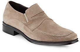 Bruno Magli Primo Suede Penny Loafers