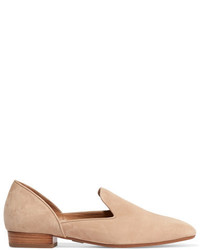 Michael Kors Michl Kors Collection Fielding Suede Loafers Beige