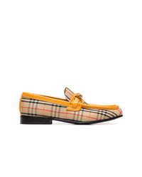 Burberry Multicoloured The 1983 Check Link Loafers