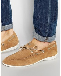 Armani Jeans Suede Loafers