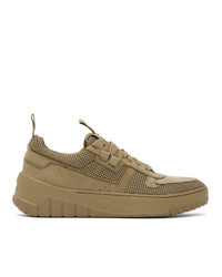 Hugo Khaki Madison Tennis Sneakers