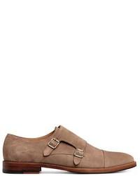 H&M Suede Monkstrap Shoes
