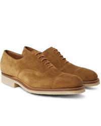 J.M. Weston 300 Suede Oxford Shoes