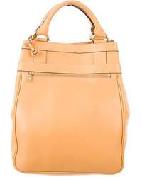 Delvaux Tan Leather Satchel