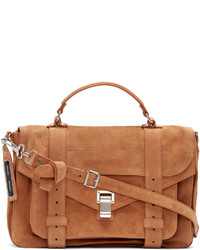 Proenza Schouler Tan Ps1 Medium Satchel
