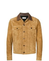 Saint Laurent Faded Biker Jacket