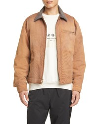 Fear Of God Suede Collar Canvas Work Jacket